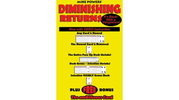 Mike Powers' Diminishing Returns