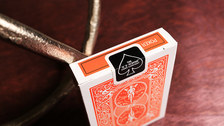 Bicycle Orange Playing Cards by US Playing Card Co