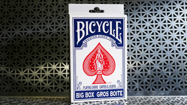 Big Bicycle Cards (Jumbo Bicycle Cards, Blue)