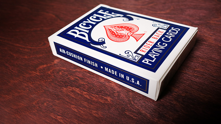 Bicycle Playing Cards Poker (Blue) by US Playing Card Co