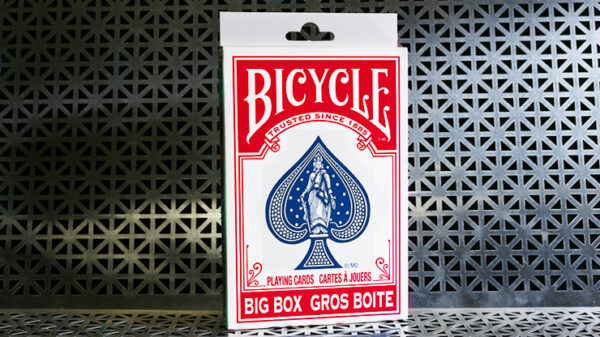 Big Bicycle Cards (Jumbo Bicycle Cards, Red)