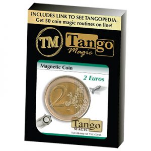 Magnetic 2 Euro coin E0021 by Tango