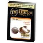 Okito Box (Brass) - US Quarter by Tango Magic -Trick (B0010)