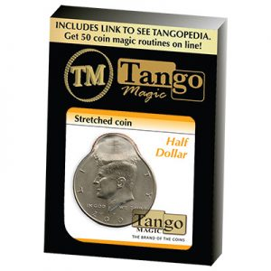 Stretched Coin - Half Dollar by Tango (D0096)