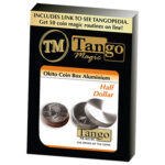 Okito Coin Box Aluminum Half Dollar (A0004)by Tango