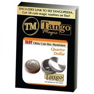 Slot Okito Coin Box Quarter Aluminum by Tango (A0014)