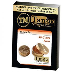 Boston Coin Box Brass (50 cents Euro) by Tango (B0006)