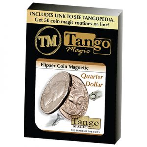 Flipper Coin Magnetic Quarter Dollar (D0043)by Tango