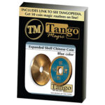 Expanded Shell Chinese Coin made in Brass (Blue) by Tango (CH005)