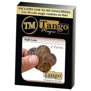 Pull Coin (2 Euro) by Tango Magic -Trick (E0047)