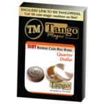 Slot Boston Box Brass Quarter by Tango -Trick (B0022)