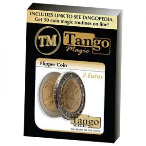 Flipper Coin 2 Euro by Tango Magic (E0036)