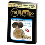 Expanded Shell Coin - (2 Euro, Steel Back) by Tango Magic (E0065)