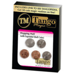 Hopping Half with Expanded Shell Coins & English Penny D0059 by Tango