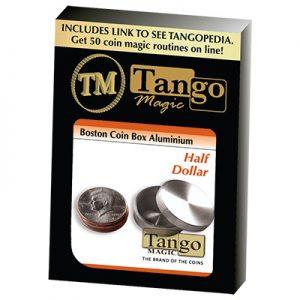 Boston Coin Box (Half Dollar Aluminum) by Tango (A0008)