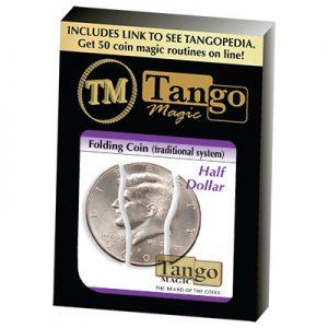 Folding Coin Half Dollar (D0020) by Tango Magic