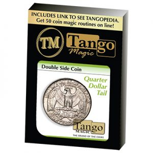 Double Side Quarter (Tails)(D0036) by Tango Magic