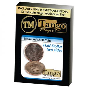 Expanded Shell Half Dollar (Two Sided)D0006 by Tango