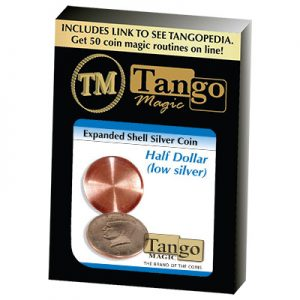 Expanded Shell Silver Half Dollar (D0003) by Tango