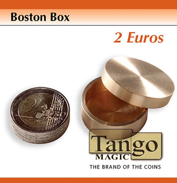 Boston Box (2 Euro coin) (B0007) by Tango Magic