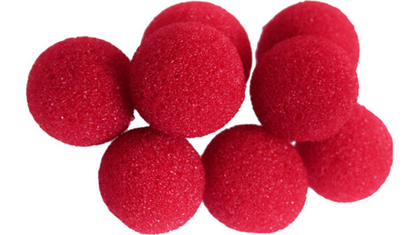 Mini Super Soft Sponge Ball (Red) Bag of 8 from Magic by Gosh