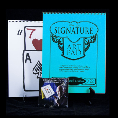 Signature Edition Sketchpad Card Rise by Martin Lewis