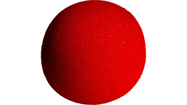 4 inch Regular Sponge Ball (Red) from Magic by Gosh (1 each)