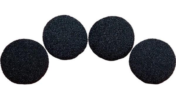 2.5 inch Regular Sponge Ball (Black) Pack of 4 from Magic by Gosh