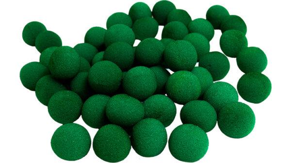 1.5 inch Super Soft Sponge Balls (Green) Bag of 50 from Magic By Gosh