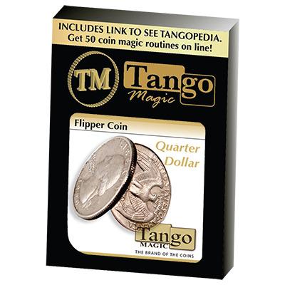 Flipper Coin Quarter Dollars (D0040)