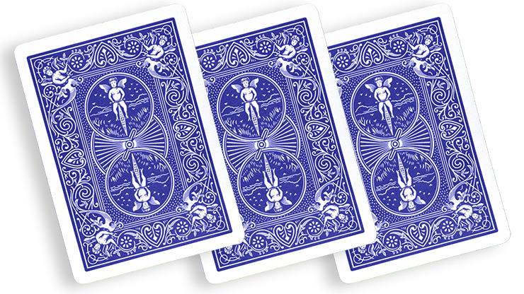 Blue One Way Forcing Deck (10c)