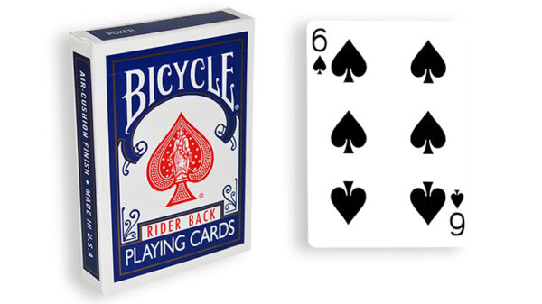 Blue One Way Forcing Deck (6s)