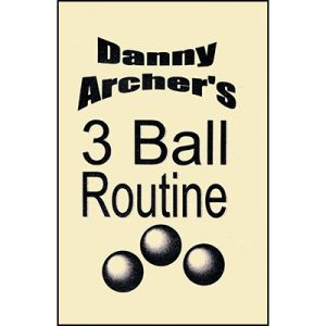 3 Ball Routine with DVD by Danny Archer