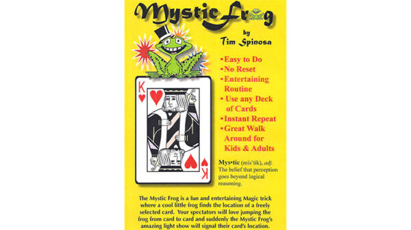 Mystic Frog by Tim Spinosa (online instructions)