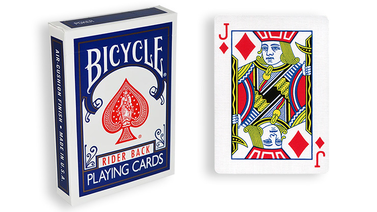 Blue One Way Forcing Deck (jd)