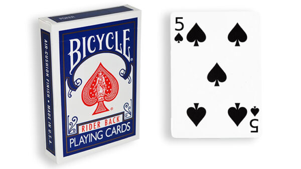Blue One Way Forcing Deck (5s)