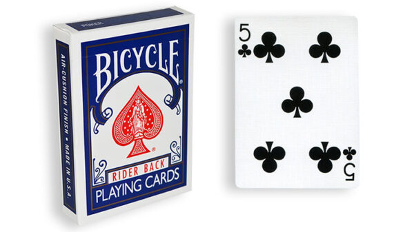 Blue One Way Forcing Deck (5c)