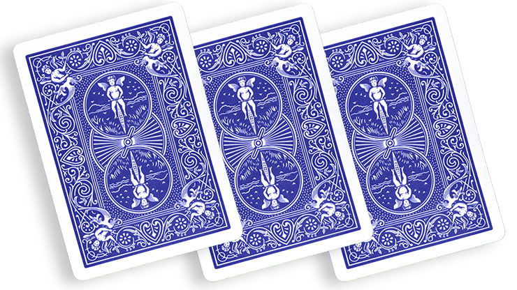 Blue One Way Forcing Deck (5d)