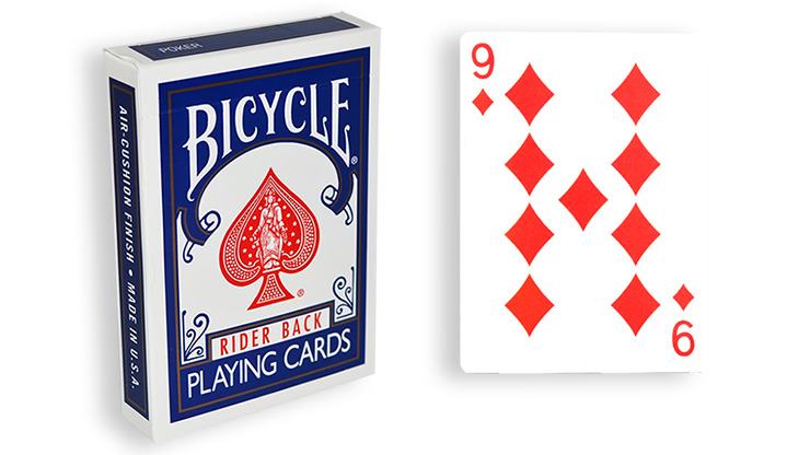 Blue One Way Forcing Deck (9d)