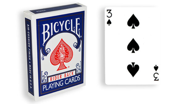 Blue One Way Forcing Deck (3s)