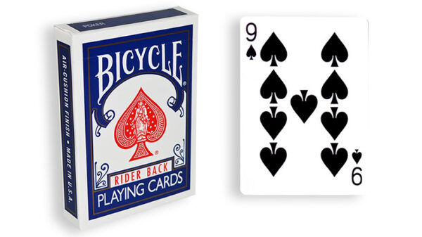 Blue One Way Forcing Deck (9s)