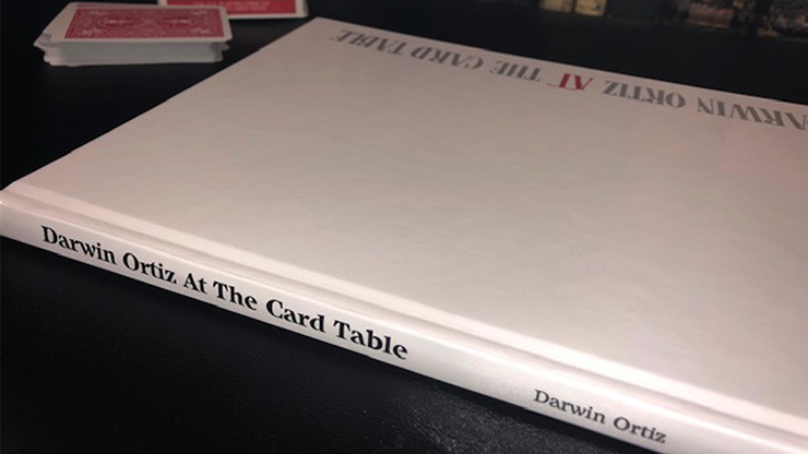 At the Card Table by Darwin Ortiz - Book