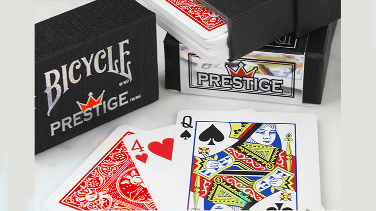 Cards Bicycle Prestige (Red) USPCC