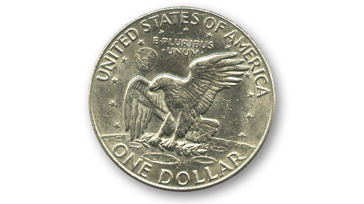 Eisenhower Dollar (Single Coin Ungimmicked)