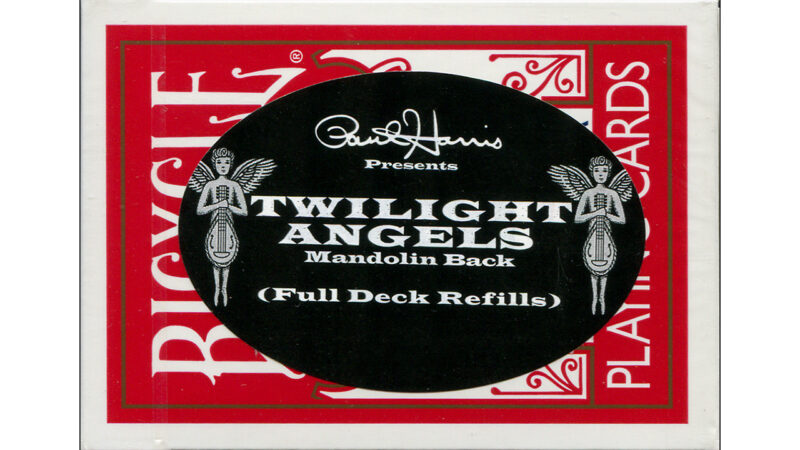 Paul Harris Presents Twilight Angel Full Deck (Red Mandolin) by Paul Harris