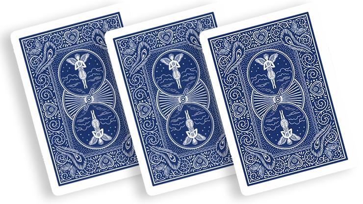 Stripper Deck Mandolin Bicycle (Blue)