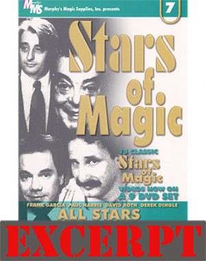 Too Many Cards video DOWNLOAD (Excerpt of Stars Of Magic #7 (All Stars))
