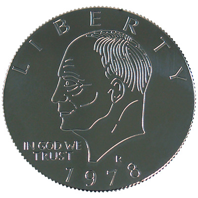 Eisenhower Palming Coin (Dollar Sized)by You Want it We Got it