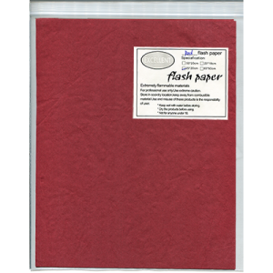 Flash Paper five pack(25x20cm) Red