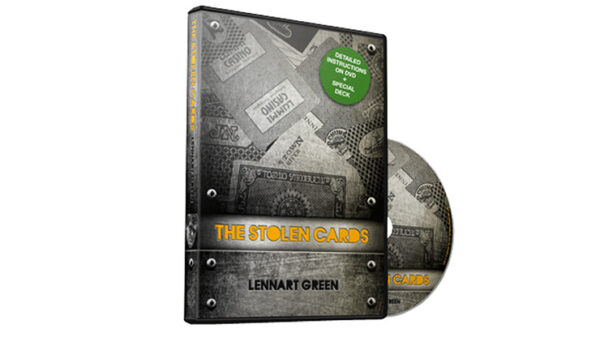 The Stolen Cards (DVD and Deck) by Lennart Green and Luis De Matos